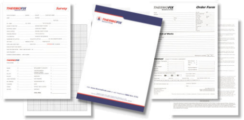 Letterheads and Stationary